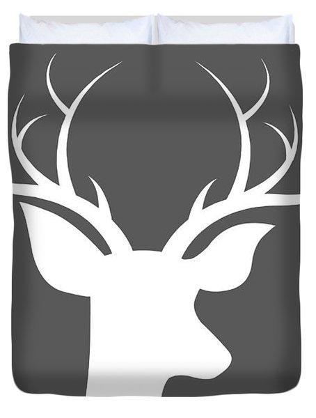 Buck Deer Duvet Cover by Chastity Hoff