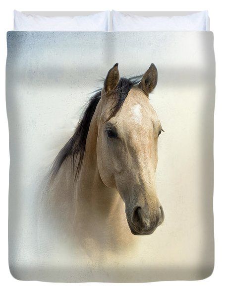 Buckskin Beauty Duvet Cover by Betty LaRue