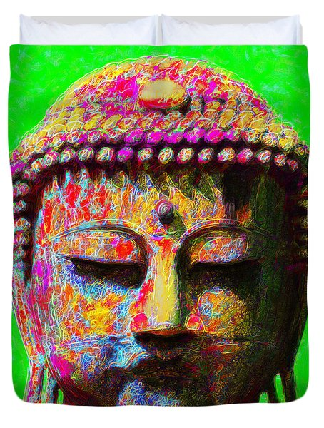 Buddha 20130130m100 Duvet Cover by Wingsdomain Art and Photography