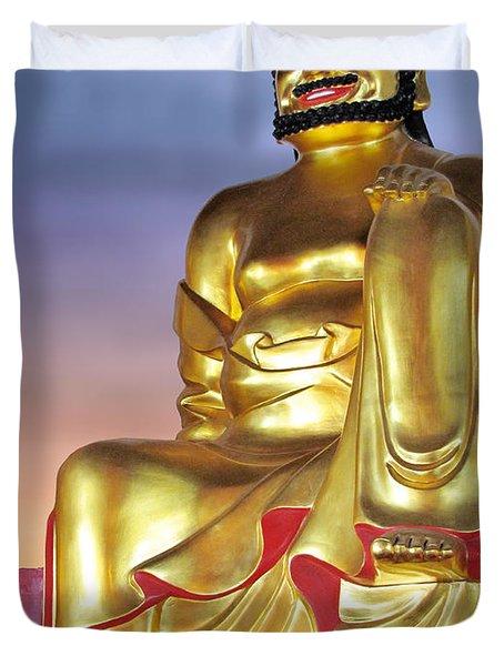 Buddha Duvet Cover by Christine Till