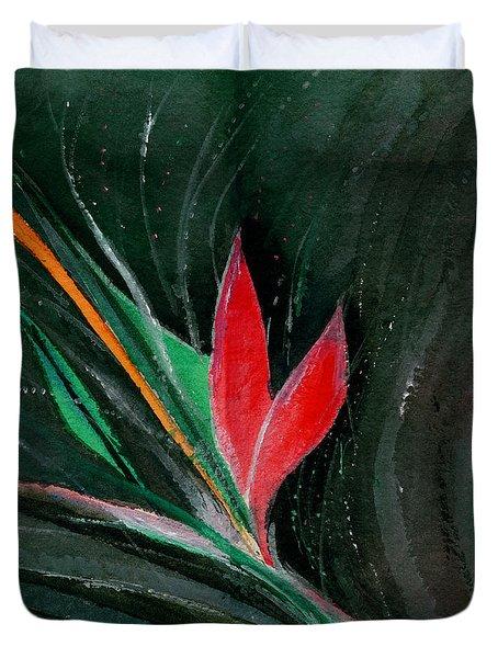 Budding Duvet Cover by Anil Nene