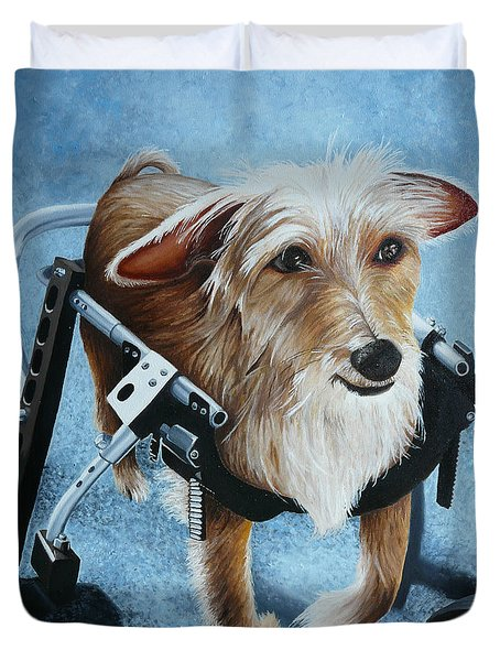 Buddy's Hope Duvet Cover by Vic Ritchey