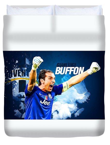 Buffon Duvet Cover by Semih Yurdabak