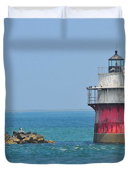 Bug Light Duvet Cover by Catherine Reusch  Daley