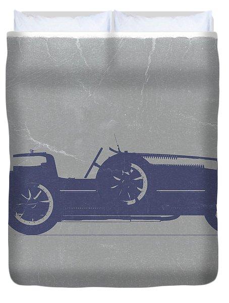 Bugatti Type 35 Duvet Cover by Naxart Studio