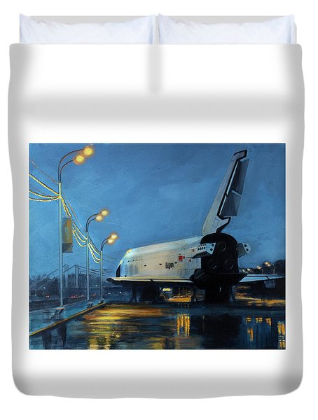 Buran Duvet Cover by Simon Kregar