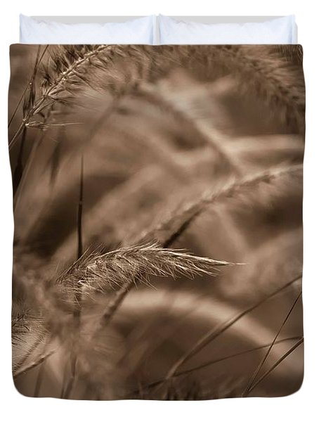 Burgundy Giant Duvet Cover by DigiArt Diaries by Vicky B Fuller