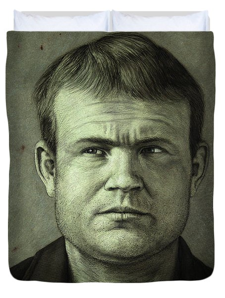 Butch Cassidy Duvet Cover by James W Johnson
