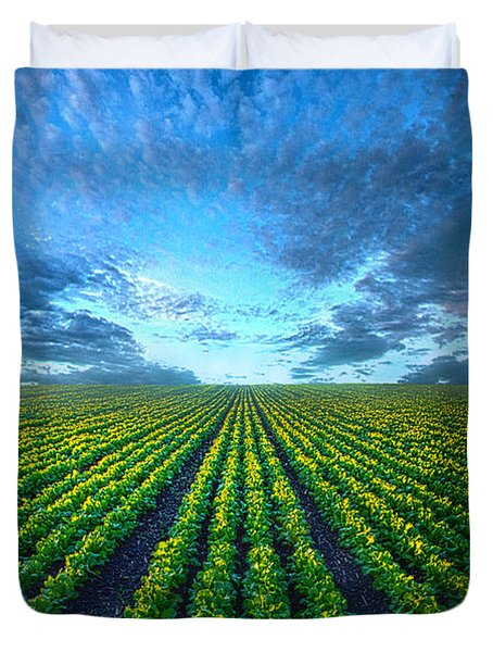 Cabbage Forever Duvet Cover by Phil Koch