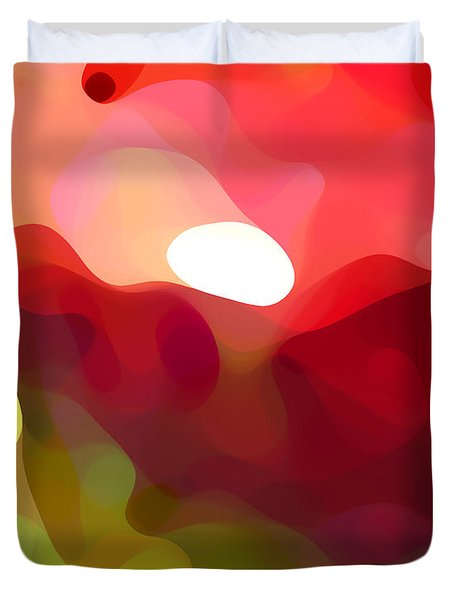 Cactus Resting Duvet Cover by Amy Vangsgard