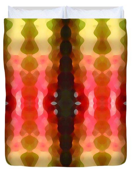 Cactus Vibrations 2 Duvet Cover by Amy Vangsgard