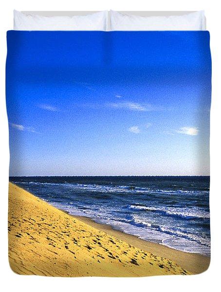 Cahoon Beach Duvet Cover by John Greim
