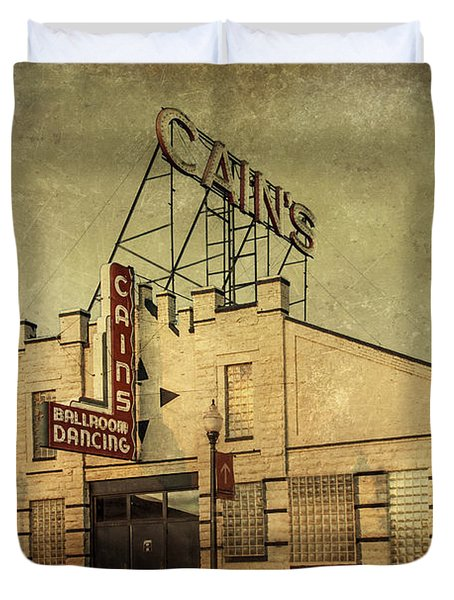 Cain's Ballroom Duvet Cover by Tamyra Ayles