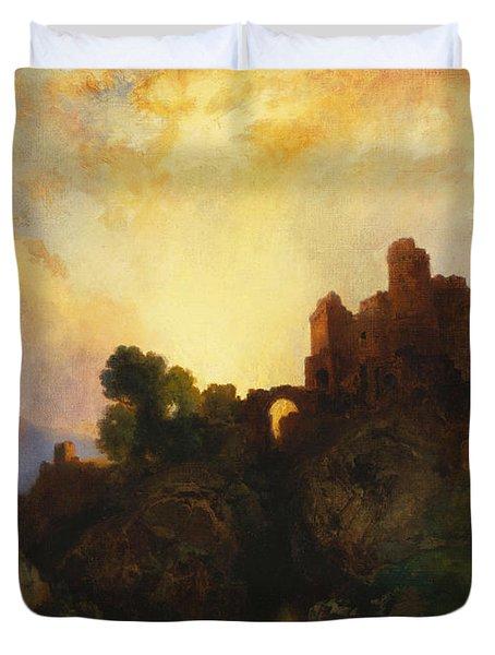 Caledonia Duvet Cover by Thomas Moran