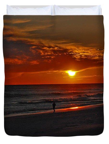 California Sun Duvet Cover by Susanne Van Hulst