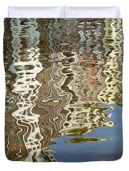 Canal House Reflections Duvet Cover by Joan Carroll
