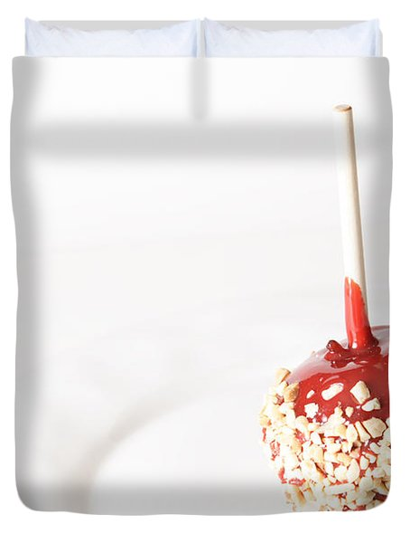 Candy Apple Duvet Cover by James BO  Insogna