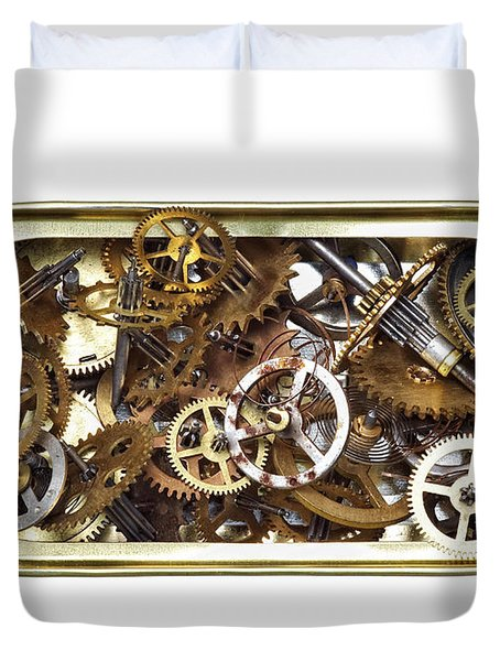 Canned Time Duvet Cover by Michal Boubin