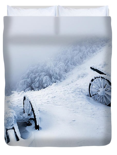 Canons Duvet Cover by Evgeni Dinev
