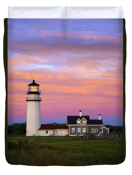 Cape Cod Light Truro Duvet Cover by John Greim