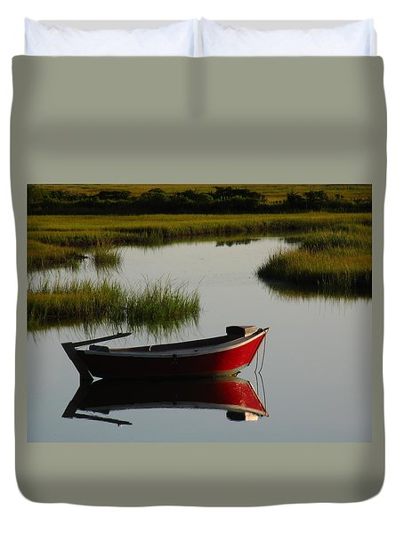 Cape Cod Photography Duvet Cover by Juergen Roth