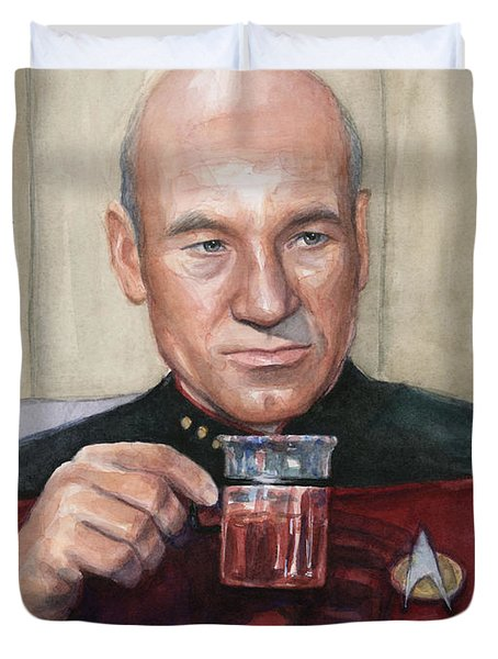 Captain Picard Earl Grey Tea Painting by Olga Shvartsur Earl Grey Tea Picard