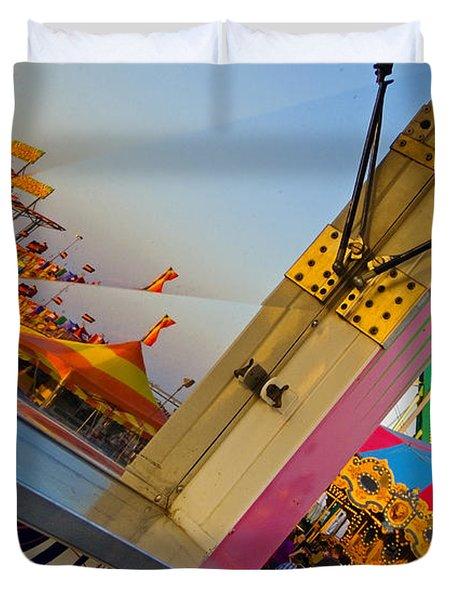 Carnival 1 Duvet Cover by Skip Hunt