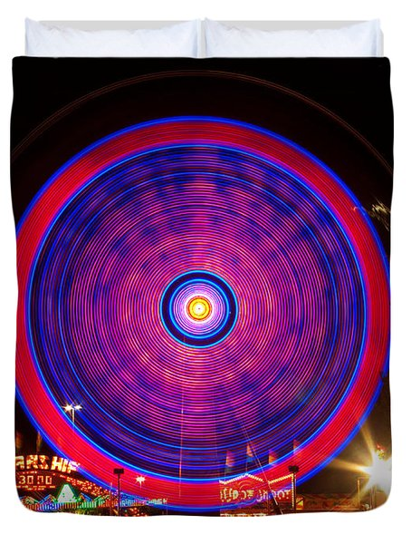 Carnival Hypnosis Duvet Cover by James BO  Insogna