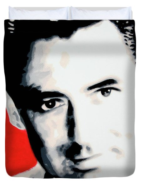 Cary Grant Duvet Cover by Luis Ludzska