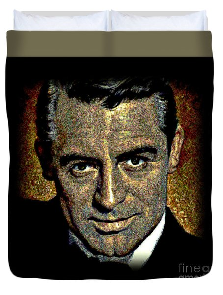 Cary Grant Duvet Cover by WBK