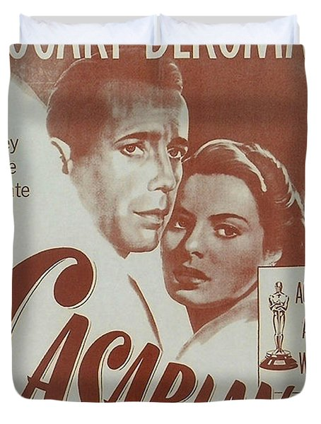 Casablanca Duvet Cover by Nomad Art And  Design
