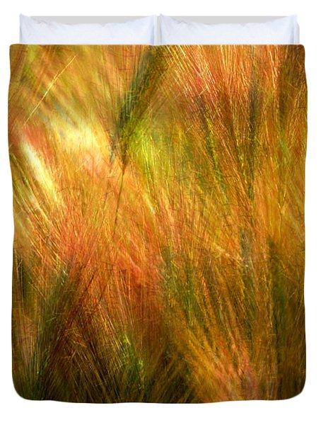 Cat Tails Duvet Cover by Paul Wear