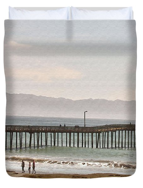 Caycous Pier II Duvet Cover by Sharon Foster