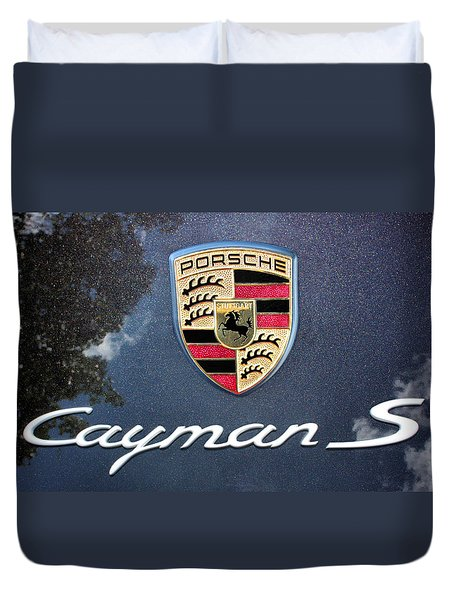 Cayman S Duvet Cover by Kristin Elmquist