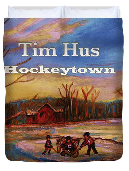 Cd Cover Commission Art Duvet Cover by Carole Spandau