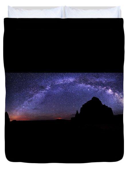 Celestial Arch Duvet Cover by Chad Dutson