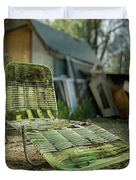 Chaise Lounge Duvet Cover by Yo Pedro