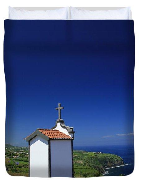 Chapel Duvet Cover by Gaspar Avila