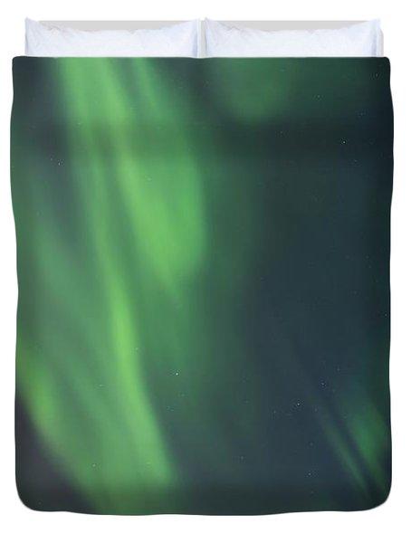 chasing lights II natural Duvet Cover by Priska Wettstein