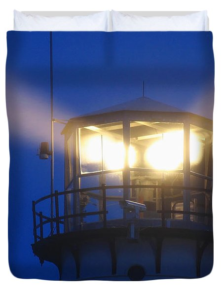 Chatham Light Duvet Cover by Juergen Roth