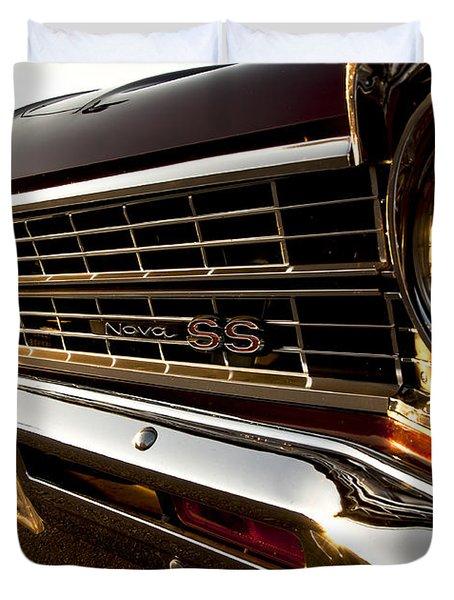 Chevy Nova Ss Duvet Cover by Cale Best