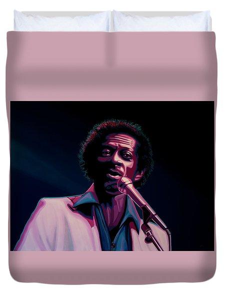 Chuck Berry Duvet Cover by Paul Meijering