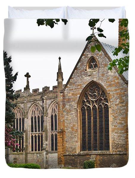 Church Of The Holy Trinity Stratford Upon Avon 3 Duvet Cover by Douglas Barnett