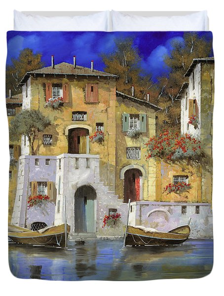 cieloblu Duvet Cover by Guido Borelli