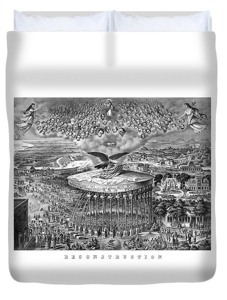 Civil War Reconstruction Duvet Cover by War Is Hell Store