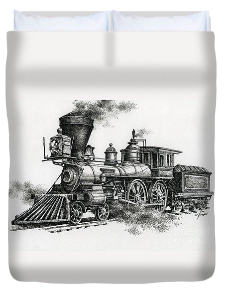 Classic Steam Duvet Cover by James Williamson