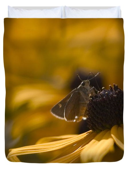 Closeup Duvet Cover by Karol  Livote