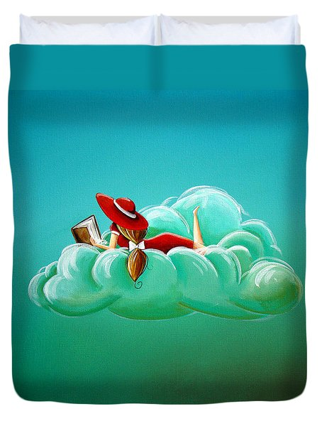 Cloud 9 Duvet Cover by Cindy Thornton