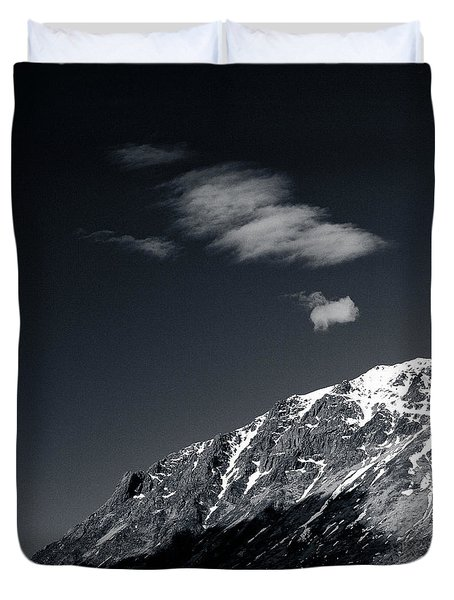 Cloud Formation Duvet Cover by Dave Bowman