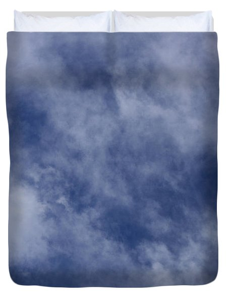 Clouds 5 Duvet Cover by Teresa Mucha